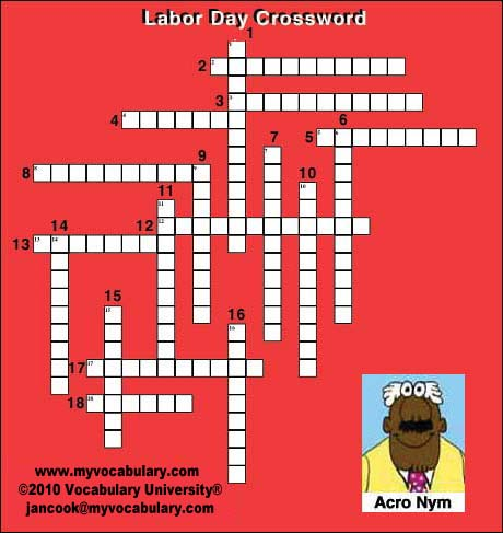 photo regarding Labor Day Word Search Printable titled Labor Working day vocabulary online games, Labor Working day vocabulary puzzles